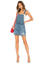 7 For All Mankind Mini Skirt Overall Dress Desert Oasis 5