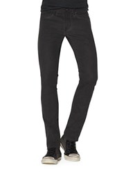 John Varvatos Bowery Straight Leg Jeans Charcoal