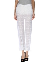 Missoni Casual Pants White
