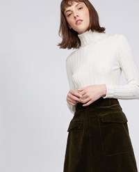 Aspesi Wool Blend Sweater Natural