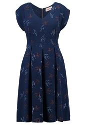 Louche Gratia Summer Dress Blue