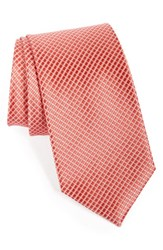 Men's Nordstrom Men's Shop Micro Grid Silk Tie