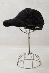 Anthropologie Rosalind Baseball Cap Black