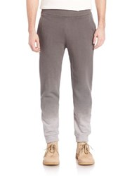 Tomas Maier Ombre Fleece Sweatpants Mixed Grey