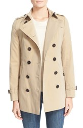 Burberry Women's London 'Sandringham' Short Slim Trench Coat