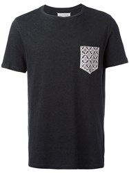 Maison Martin Margiela Printed Pocket T Shirt Black