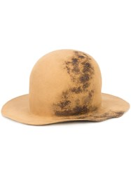 Horisaki Design And Handel Easy Burnt Hat Men Rabbit Felt L Brown