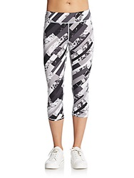 Marc New York By Andrew Marc Performance Abstract Print Cropped Leggings