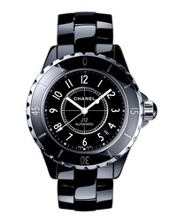 Chanel J12 Black 38Mm Ceramic Watch