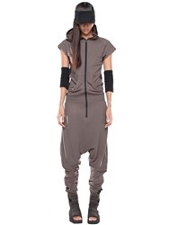 Demobaza Arcturus Cotton Jersey Jumpsuit