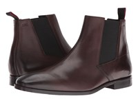 Hugo Boss Square Chelsea By Green Dark Brown Men's Boots