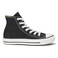 Converse Unisex Chuck Taylor All Star Canvas Hi Top Trainers Black