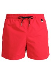Hom Marina Swimming Shorts Red