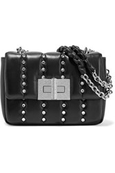 Tom Ford Natalia Small Crystal Embellished Quilted Leather Shoulder Bag Black