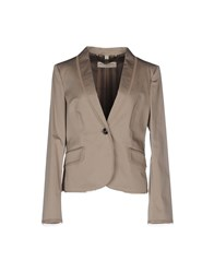 Burberry London Suits And Jackets Blazers Women Grey