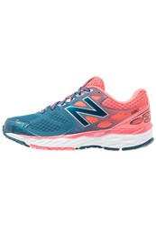 New Balance W680rg3 Cushioned Running Shoes Castaway Dark Blue