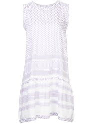 Cecilie Copenhagen Sleeveless O Neck Dress White
