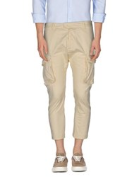 Dsquared2 Trousers 3 4 Length Trousers Men Ivory