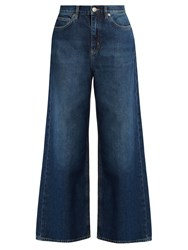 Mih Jeans Caron Wide Leg Cropped Denim