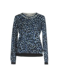 Patrizia Pepe Sweaters Dark Blue