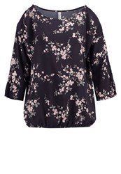 Soyaconcept Tristiane Long Sleeved Top Dark Earth Anthracite