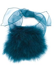 Sonia Rykiel Feather Down Bracelet Blue