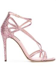 Dolce And Gabbana Keira Sandals Pink Purple