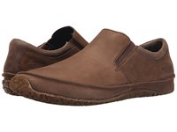 The North Face Bridgeton Slip On Grey Taupe Cosmic Blue Men's Slip On Shoes Brown