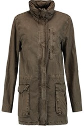James Perse Cotton Jacket Mushroom