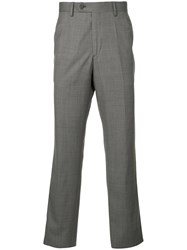Gieves And Hawkes Slim Fit Tailored Trousers Grey