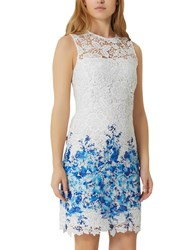 Damsel In A Dress Amily Boarder White Blue