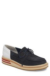 Sperry Cloud Colorblocked Boat Shoe Navy White