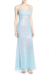 Women's A. Drea Sequin V Neck Gown