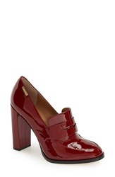 Women's Calvin Klein 'Kathryn' Pump Dark Red