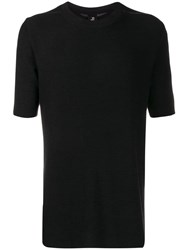 Thom Krom Stitching Detail T Shirt Black