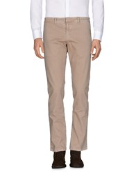Frankie Morello Casual Pants Sand