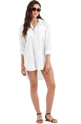 Women's Topshop Oversize Beach Cover Up