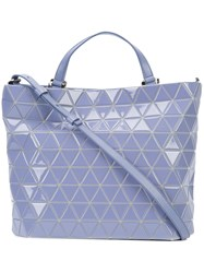 Issey Miyake Bao Bao Crystal Gloss Tote Women Polyester Polyurethane One Size Pink Purple