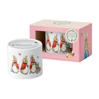 Wedgwood Peter Rabbit Girl's Money Box