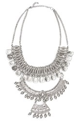 Panacea Women's Triple Layer Statement Necklace