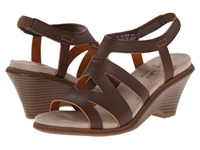 Lifestride Persephone Dark Tan Women's Wedge Shoes Brown