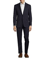 Polo Ralph Lauren Classic Fit Peak Lapel Wool Suit Navy Black