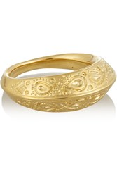 Aurelie Bidermann Apache Gold Plated Ring Metallic