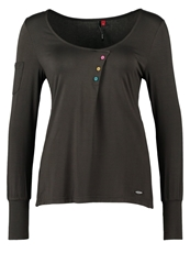Ragwear Solana Long Sleeved Top Anthracite Dark Gray