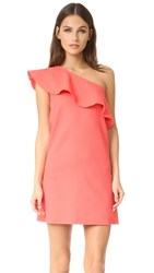 Cupcakes And Cashmere Tex Waffle Dress Coral