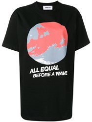 Ambush All Equal Print T Shirt Black