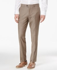 Bar Iii Men's Slim Fit Stretch Wrinkle Resistant Dress Pants Only At Macy's