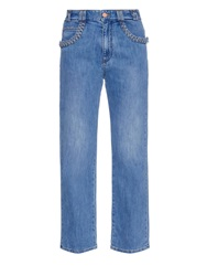 See By Chloe Braid Pocket Boyfriend Fit Jeans