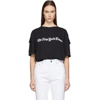 Etudes Studio Black The New York Times Edition Unity T Shirt