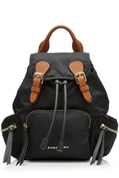 Burberry Backpack With Leather